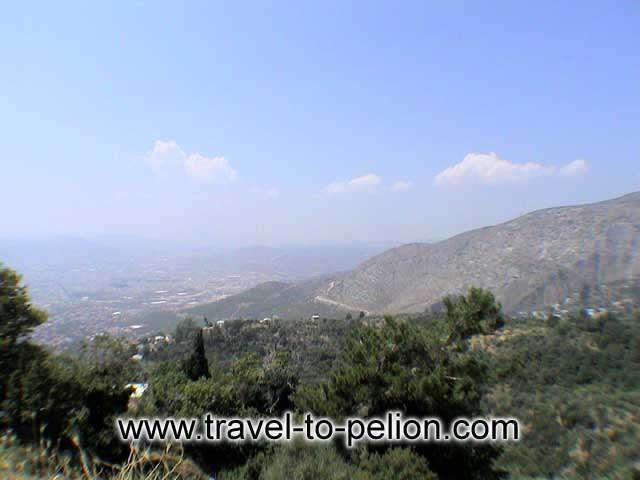 PORTARIA - View of Volos city from Portaria