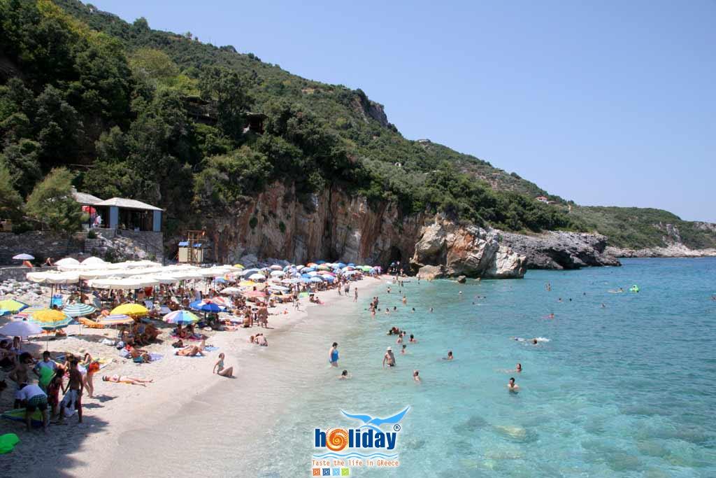 Milopotamos beach -  by Ioannis Matrozos
